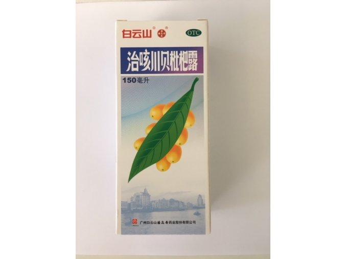 Merry Lynch Mišpulníkový sirup - Chuan Bei Pi Pa Lu 150 ml