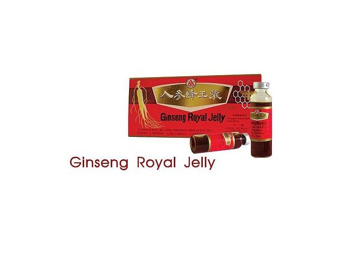 Ženšen s mateří kašičkou a schizandrou Ginseng Royal Jelly ampule 10 x 10 ml