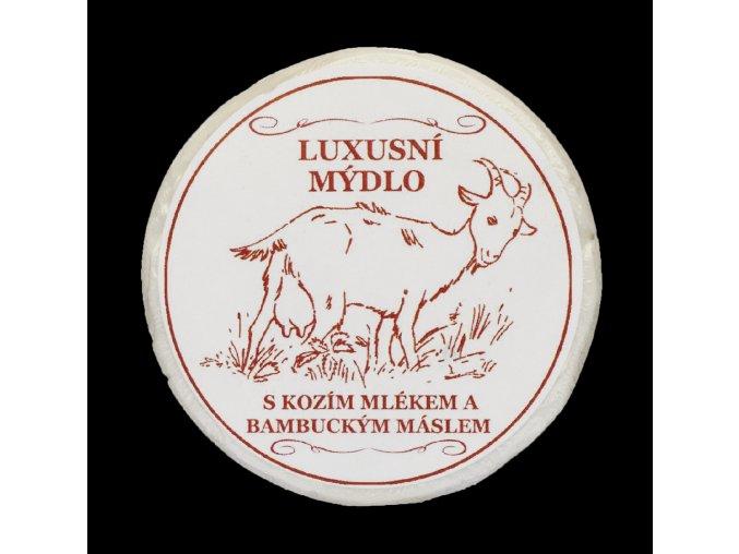 Luxusní mýdlo s kozím mlékem