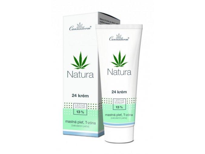 Natura 24 krém pro mastnou pleť 75g