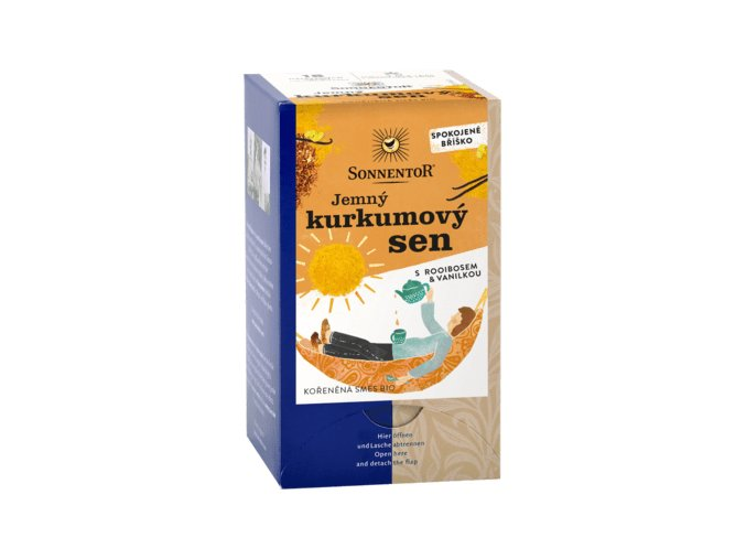 jemny kurkumovy sen bio porcovany dvoukomorovy