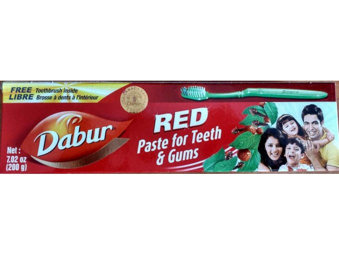 Dabur Red bylinná zubní pasta 200g