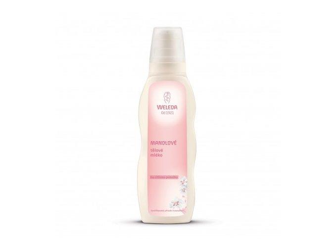 Mandlové tělové mléko na citlivou pokožku