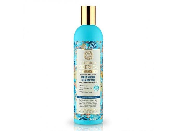 Rakytníkový šampón pro poškozené vlasy
