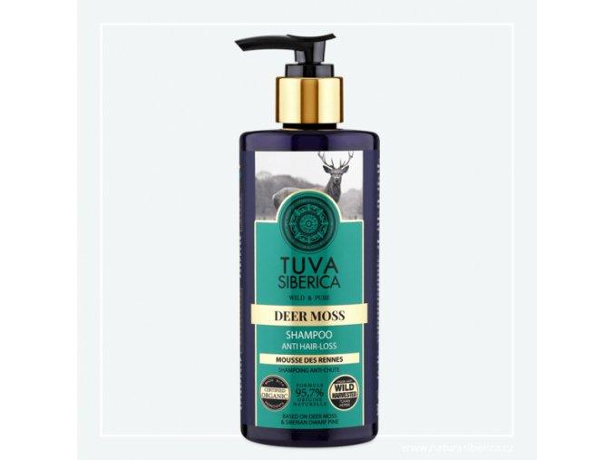 Tuva Siberica Šampon proti vypadávání vlasů – Jelení mech