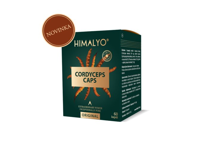 Himalyo CORDYCEPS Caps, 60 ks