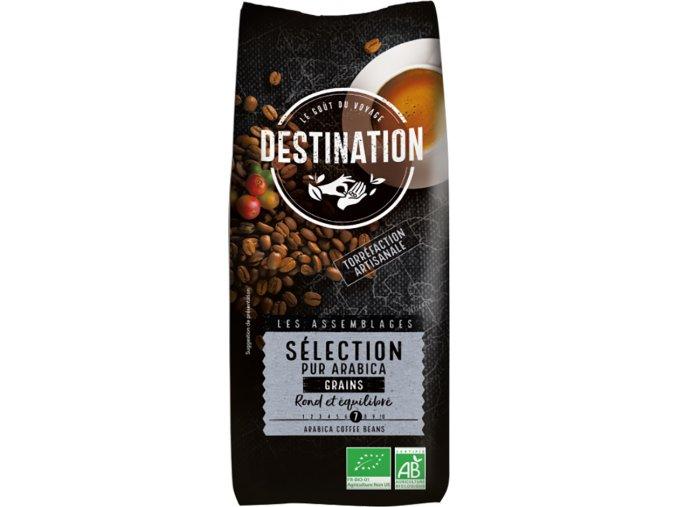 Destination Bio káva zrnková Selection 250 g