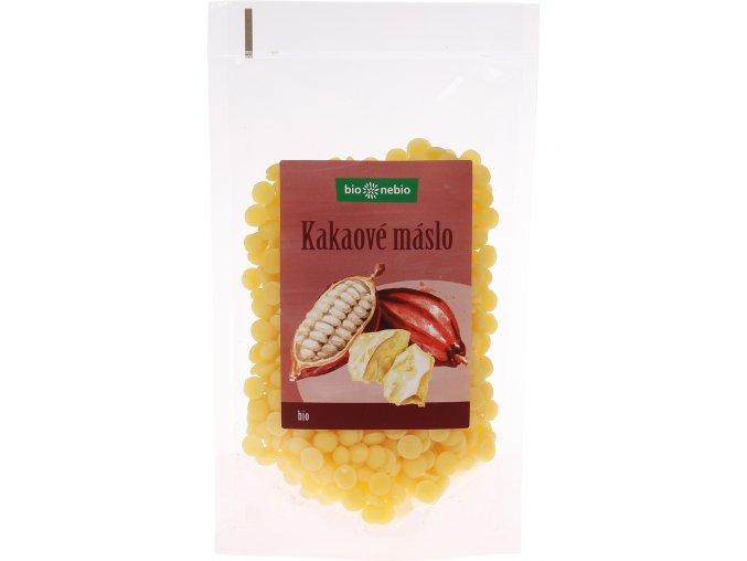 Bio Nebio Bio kakaové máslo pecičky 100 g