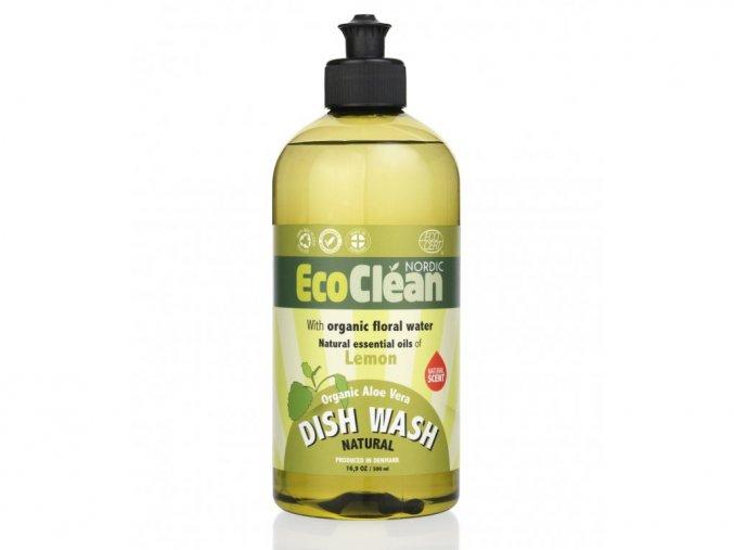 Eco Clean prostředek na mytí nádobí Citrón 500 ml