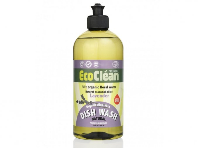 Eco Clean prostředek na mytí nádobí Levandule 500 ml