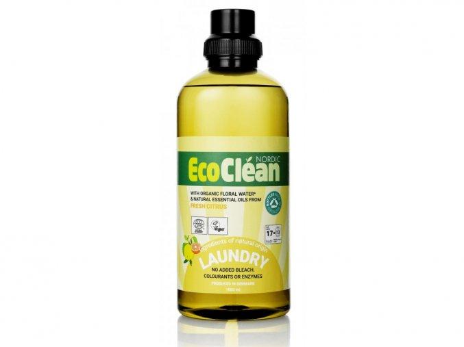 Eco Clean tekutý prací prostředek Svěží citrus 1,5 l