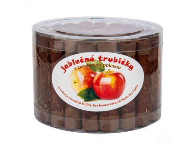 Trubičky jablečné s karobem