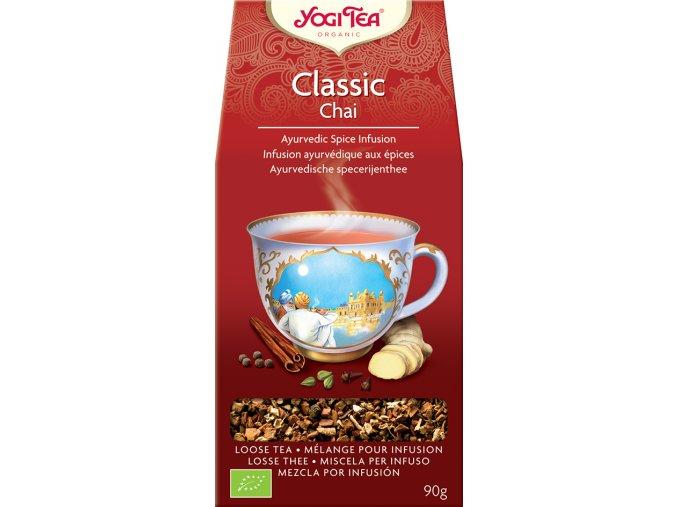 Yogi Tea Bio Classic Chai sypaný 90 g