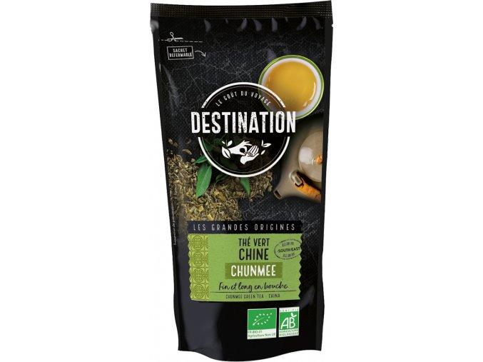 Destination Premium Bio zelený čaj Chunmee sypaný 100 g