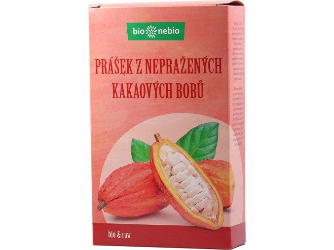 Bio Nebio Bio prášek z nepraženého kakaa 150 g