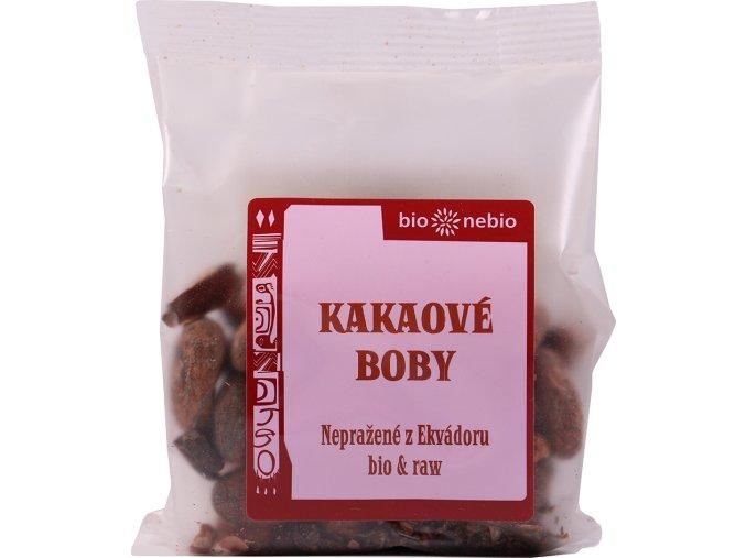 Bio Nebio Bio kakaové boby nepražené 100 g