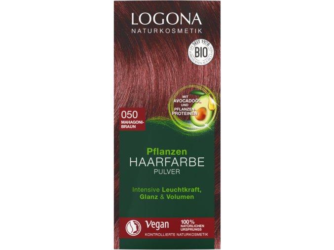 logona barva na vlasy mahagon