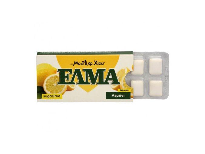 elma lemon chewing gum 10 ks