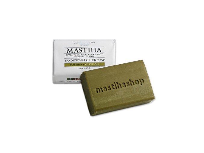 tradicni recke mydlo s mastichou a olivovym olejem 100 g 1447333120180130093619