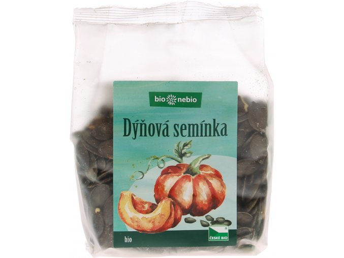 Bio Nebio Bio dýňové semínko ČESKÉ BIO 200 g