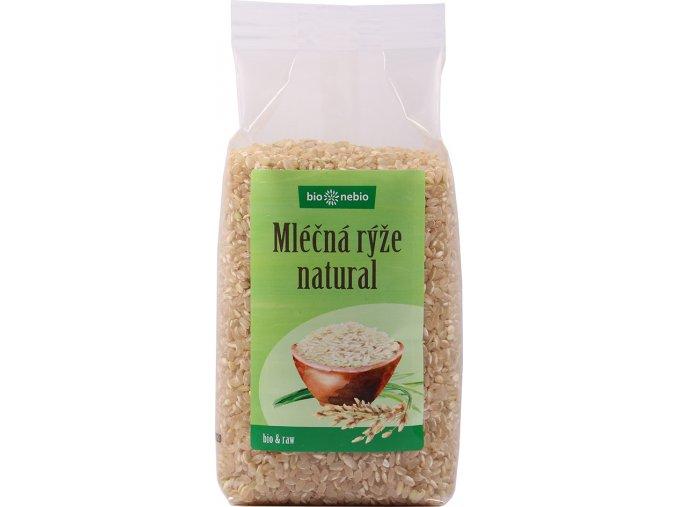 Bio Nebio Bio rýže mléčná natural 500 g
