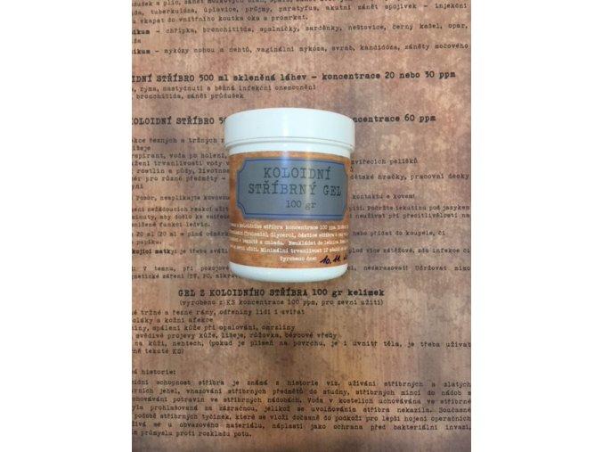 Gel z koloidního stříbra kelímek 100 gr