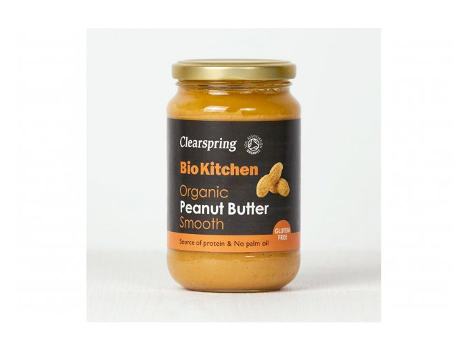 Arašídové máslo jemné BIO