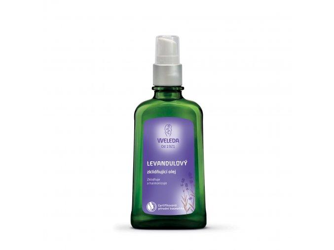 Levandulový zklidňující olej