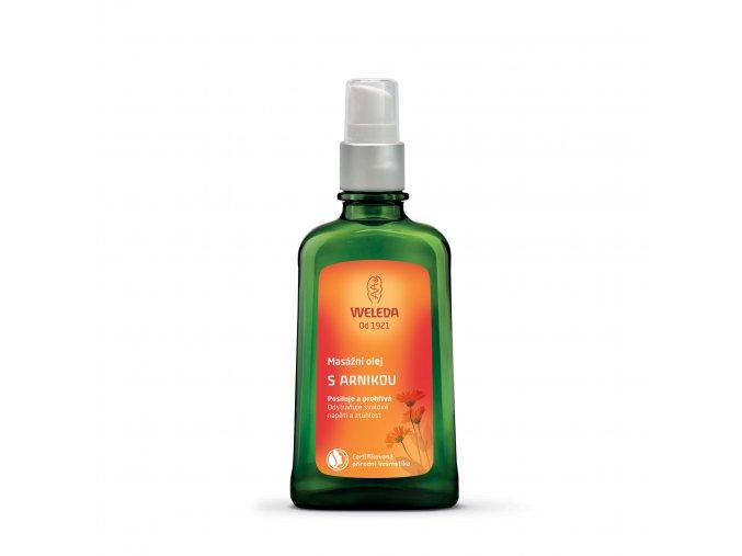 Masážní olej s arnikou 100 ml