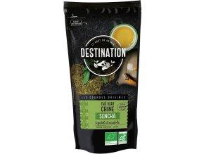 Destination Premium Bio zelený čaj Sencha sypaný 80 g