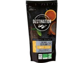 Destination Premium Bio černý čaj Flowery Pekoe 100 g