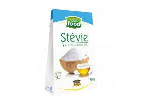 Stévie 2x sladší než tradiční bílý cukr