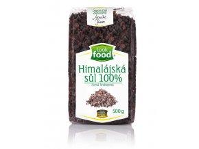 Himálajská sůl černá 100% hrubá