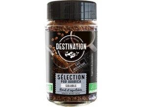 Destination Bio instantní káva 100% arabika 100 g