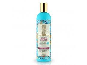 Rakytníkový šampón pro normální a mastné vlasy