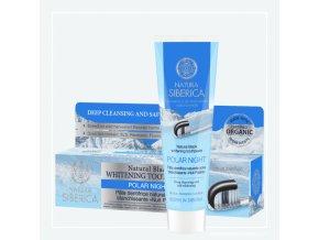 Přírodní černá bělící zubní pasta – Polární noc