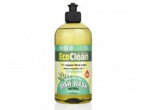 Eco Clean prostředek na mytí nádobí Eukalyptus 500 ml