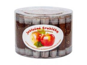 Trubičky jablečné s jogurtem dóza