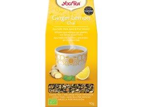 Yogi Tea Bio Zázvor Citrón Chai sypaný 90 g