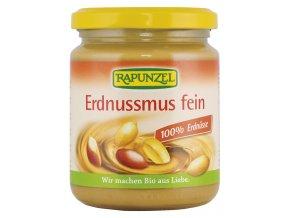 RAPUNZEL Bio 100% arašídová pasta jemná 250g