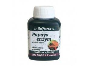 Papaya enzym