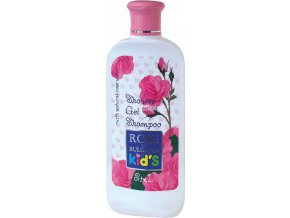 Šampon a sprchový gel pro děti z růžové vody