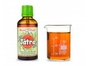 Bylinné kapky Regenerace jater (játra) tinktura 50 ml