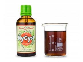 mycyst myom cysta bylinne kapky tinktura 50 ml