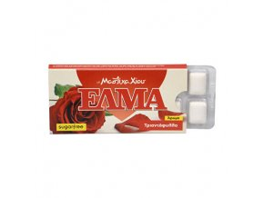 elma rose chewing gum 10 ks