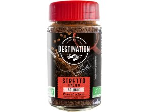 Destination Bio instantní káva Stretto 100 g