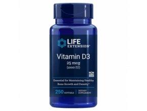 vitamin d3 life extension 90 kapsli doplnek stravy