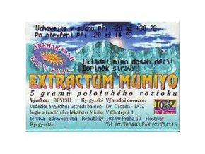 Mumio extrakt