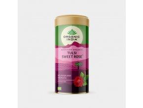 Tulsi sladká růže, plech 100 g