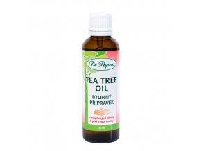 Tea Tree Oil dezinfekce rukou